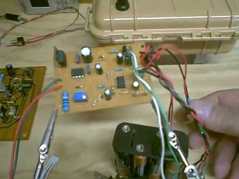 DIY Simple PI homemade metal detector