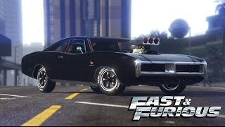 FAST AND FURIOUS - Dom's Charger Car Build!  - Gta 5