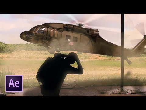 Place a Helicopter Into Your Videos! // After Effects Tutorial!