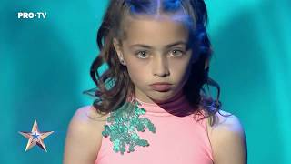 NIKOL VARGA - Romanii Au Talent 2019 - Semifinala 2