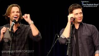 Jared e Jensen - Imitando Sam e Dean (Vancon 2017)