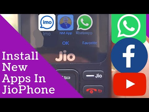 how to install new apps in jio phone Whatsapp Imo Facebook? | Mann Ki Baat apps In JioPhone |