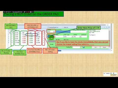 How to BUY STOCKS using the BDO Nomura Platform