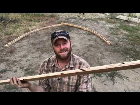 How to build a shed for $500 part 2 | building arches