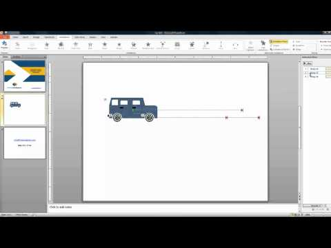 Effectively Combine Custom Animation Types in PowerPoint 2010