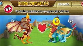 Dragon City - Breeding the Wolfreeze Dragon [Exclusive Breeding Dragon 2017]