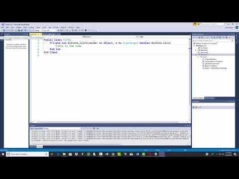 Visual Basic Programming - Viewing Code / Forms