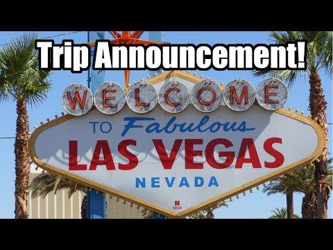 Las Vegas Trip Announcement 2018!