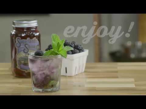 Sugarlands Distilling Company: Blockader's Blackberry Moonshine Mint Julep Cocktail