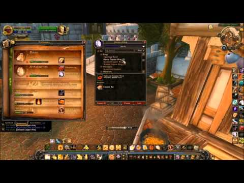 wow jewel crafting and prospecting