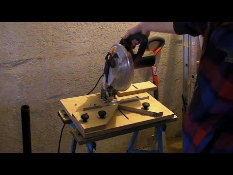 Fixing Mitre Saw - 90° Chop Saw - Mitre Cutting Jig