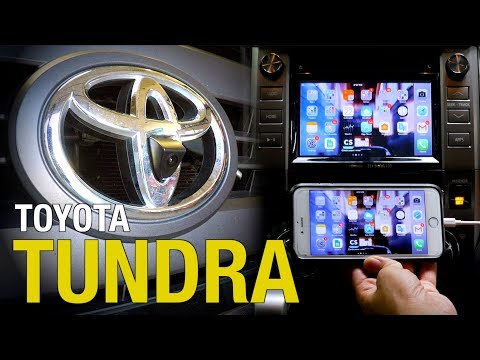 2014-2018 Toyota Tundra Front Camera & Smartphone Mirroring Interface Installation