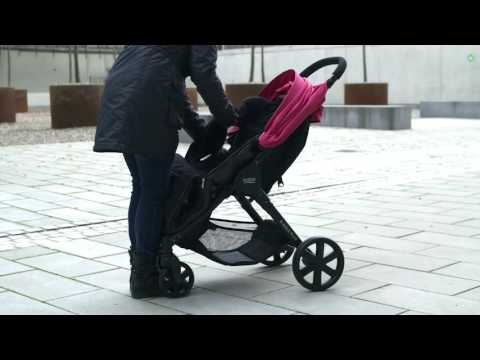 BRITAX Buggies – How to fit the cosytoes