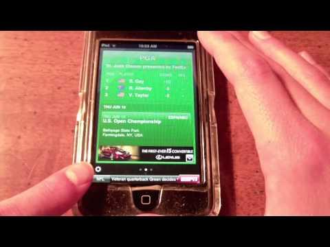 ESPN ScoreCenter App Demo