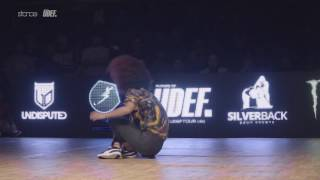 Sarah Bee vs Paulina [bgirl top 16] // .stance x UDEFtour.org // Silverback Open 2016