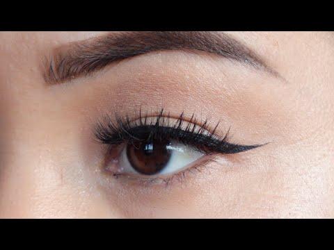 Easiest way to apply eyeliner for hooded eyes / asian eyes / Nepal