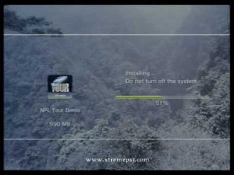 PS3 - Installing a game