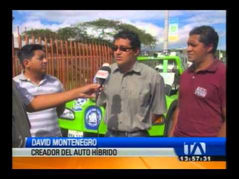 Jóvenes construyen primer auto híbrido en Ecuador