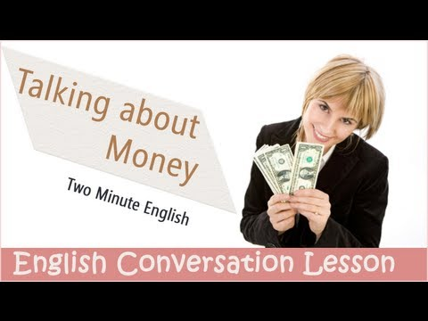 Talking About Money - Learn English Quickly