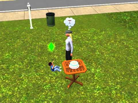 Sims 3 how to make your sim grow up faster! -read discription