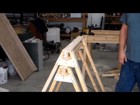 Let's build - Sturdy Sawhorses for the Cheap