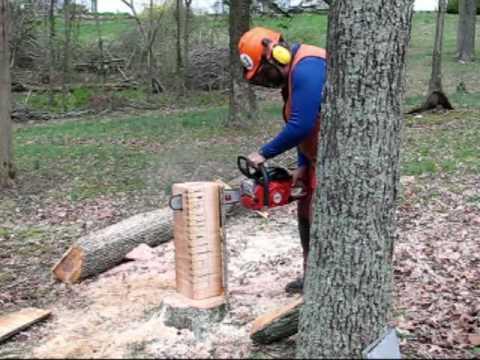Build A Stump Vise!
