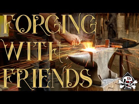 Forge With Friends: AlsHackShack, Moonshine Metalworks, Crafts with Ellen, iJessup, The Redsmith