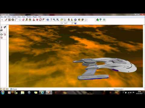 Google Sketchup tutorial demo - Animation with background (view HD fullscreen)