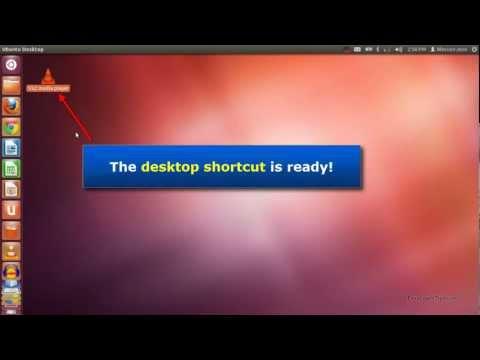 Ubuntu 12.04 - Create desktop shortcut for any application