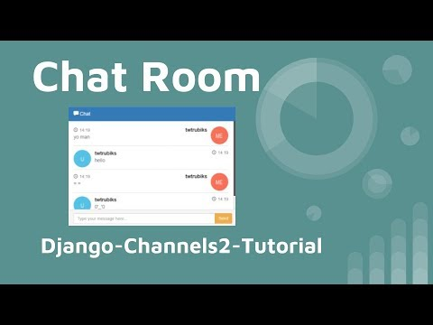 chat-room use django-channels2