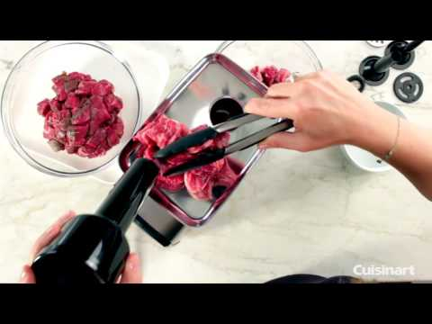 Electric Meat Grinder Demo (MG-100)