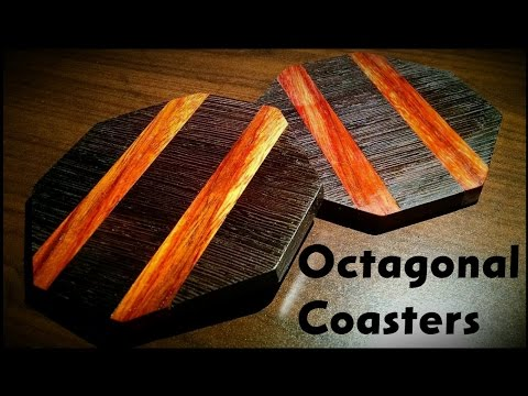 How To Make Octagonal Wood Coasters