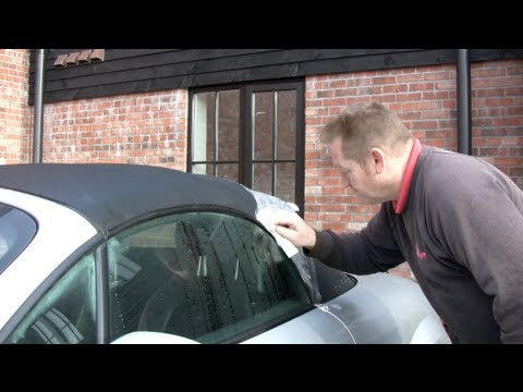 How to clean your car's soft top/convertible hood with Simon Nixon