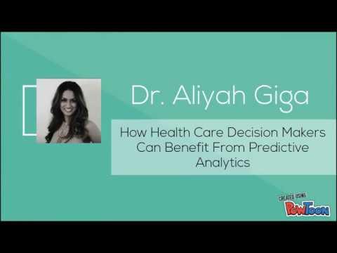 Aliyah Giga - Predictive analytics in healthcare