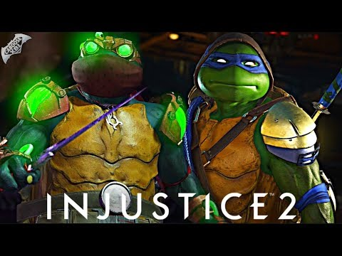 Injustice 2 Online - 500 DAMAGE NINJA TURTLES COMBO!