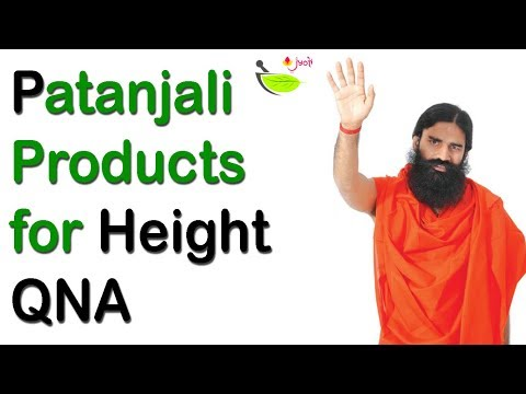 Patanjali Products for Height | QNA video | Patanjali Medicine for Height Growth👍👌