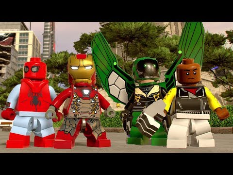 LEGO Marvel Super Heroes 2 - All Spider-Man Homecoming Characters (Free Roam)