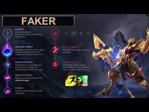 SKT Faker Build Azir - New Runes Season 8 solo vs Taliyah (League of Legends Guide)