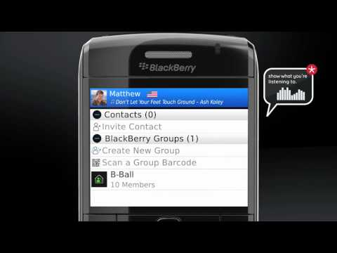 Introducing BlackBerry Messenger
