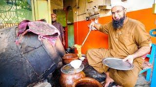 Street Food in Peshawar - AMAZING PAYA + CHARSI TIKKA   Pakistani Food Tour!