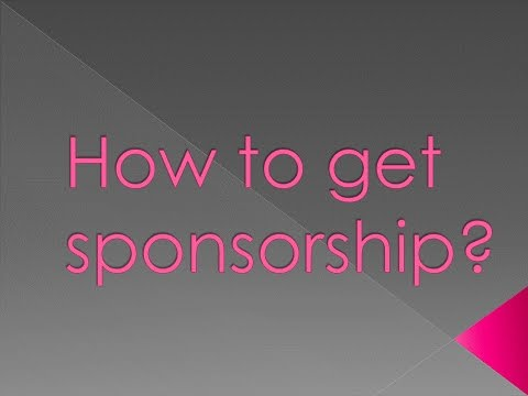 How to get sponsorship ? |voice-hindi|