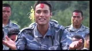 APF Dashain Song Dhankai Bala Jhulaula