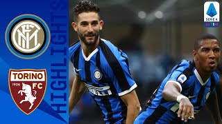 Inter 3-1 Torino   Young, Godin & Martinez on target to send hosts back into second!   Serie A TIM