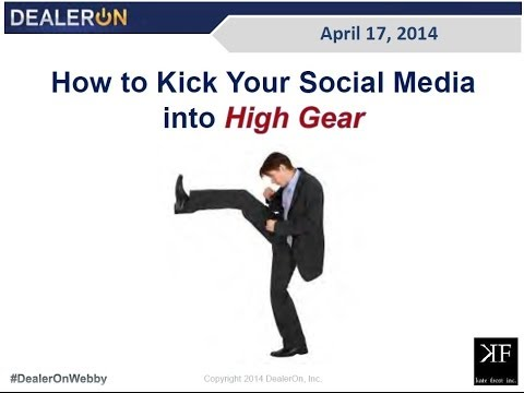 How to Kick Your Social Media into High Gear