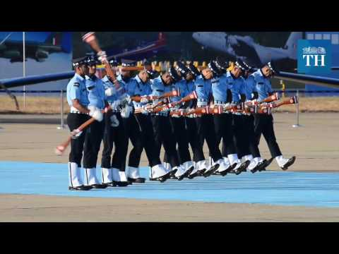 Indian Air Force Academy passing out parade 2016