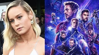 Download Avengers Endgame Cast Hate Brie Larson & Don Cheadle Reacts To This Crazy Rumor Video