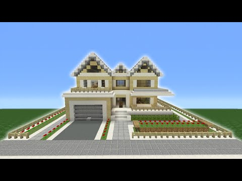 Minecraft Tutorial: How To Make A Suburban House - 8