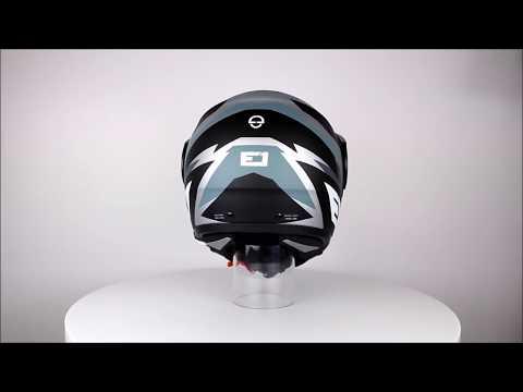 SCHUBERTH E1 Rival Grey Adventure Motorcycle Helmet