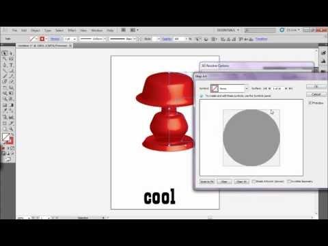 illustrator cs5 3D tool.mp4