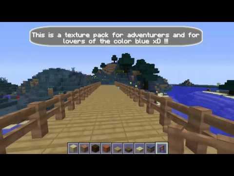 Minecraft: Simple wooden bridge with different textures